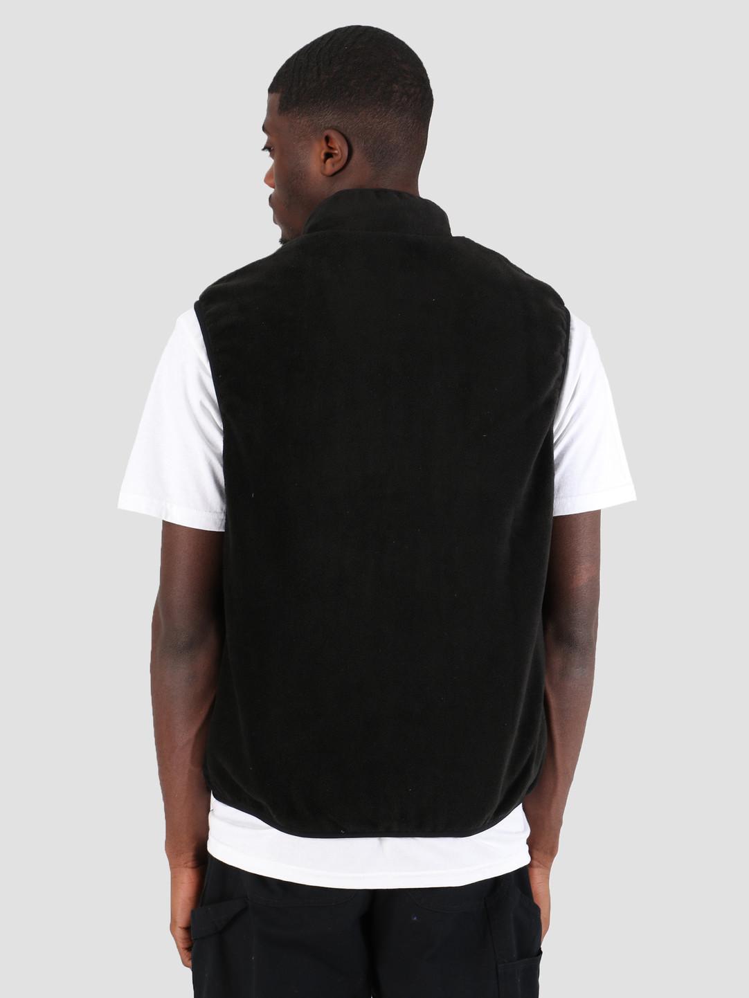HUF HUF Borough Reversible Vest Black JK00135