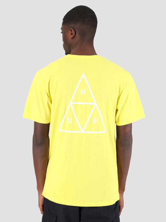 HUF Essentials TT T-Shirt Aurora Yellow TS00509