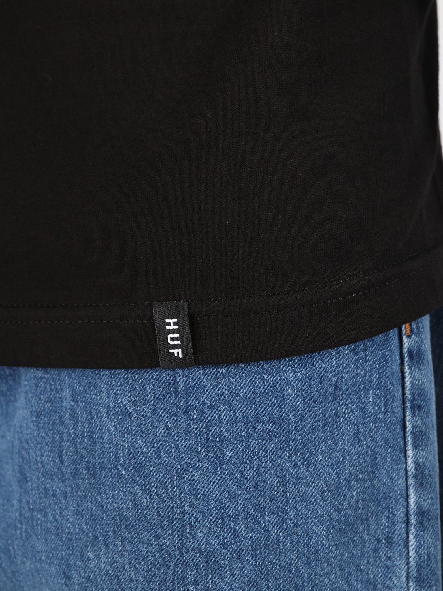f76a6b4f HUF Bodega Longsleeve Black TS00564 | FRESHCOTTON