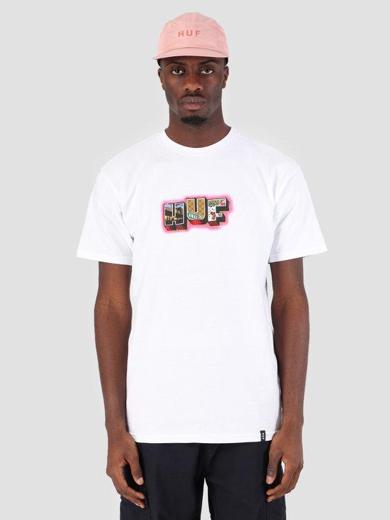 HUF Huf Town T-Shirt White TS00573
