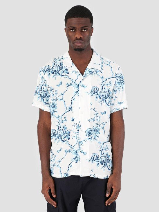 HUF Highline Woven Shirt White BU00043