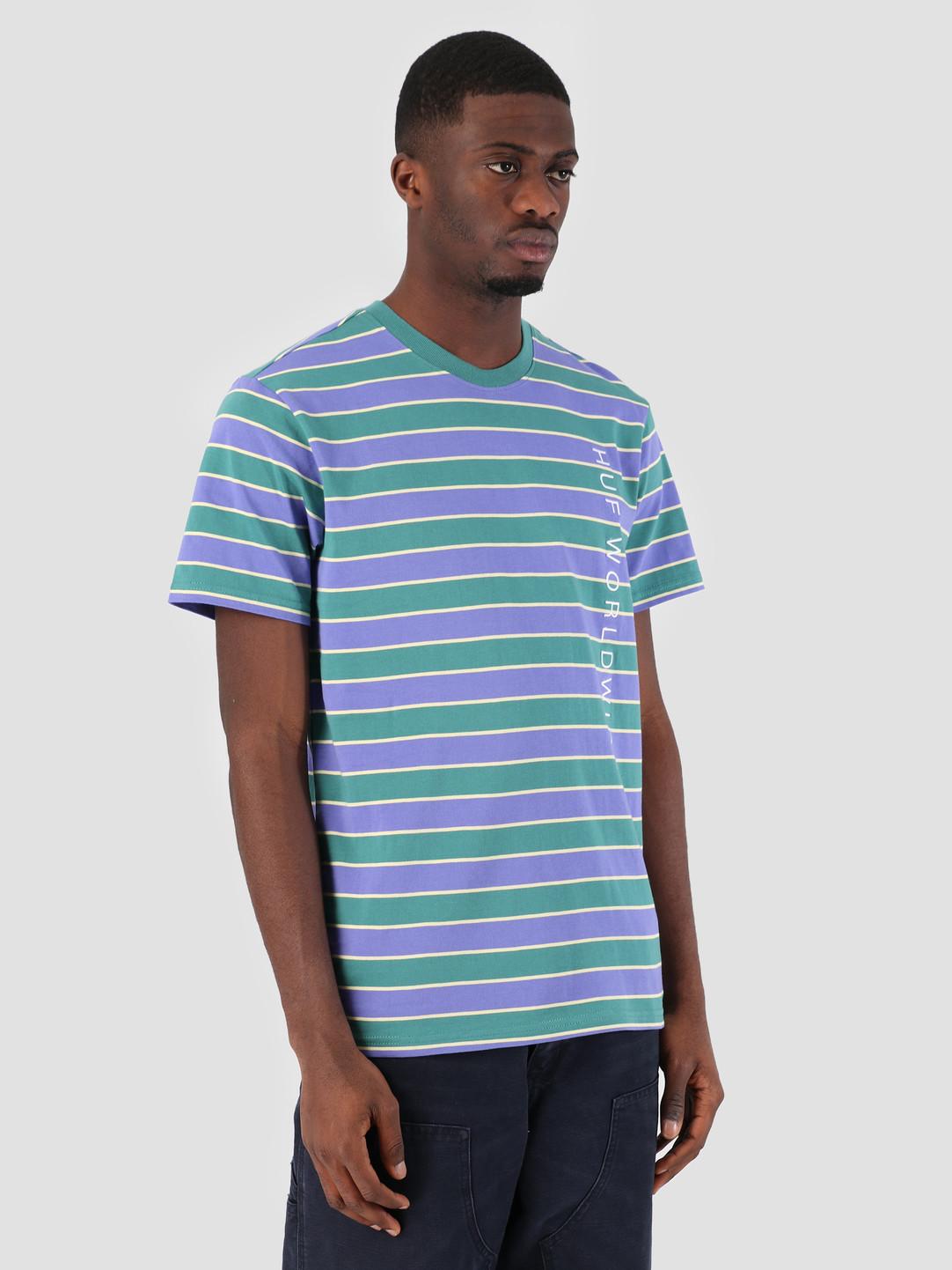 HUF HUF Lexington Knit T-Shirt Blue Iris KN00087