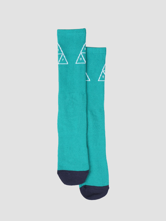 HUF Triple Triangle Sock Deep Jungle SK00324