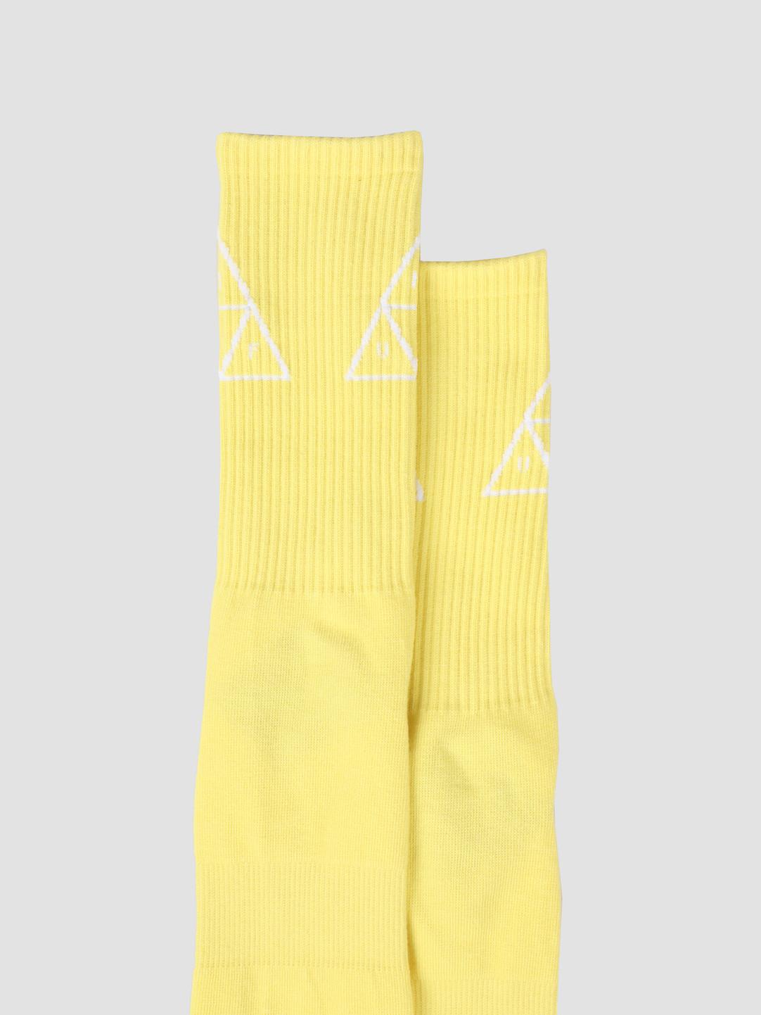 HUF HUF Triple Triangle Sock Aurora Yellow SK00324