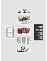 HUF HUF SP19 Sticker Pack Multi AC00178