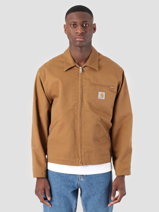 Carhartt WIP Og Detroit Jacket Rigid Hamilton Brown I026465