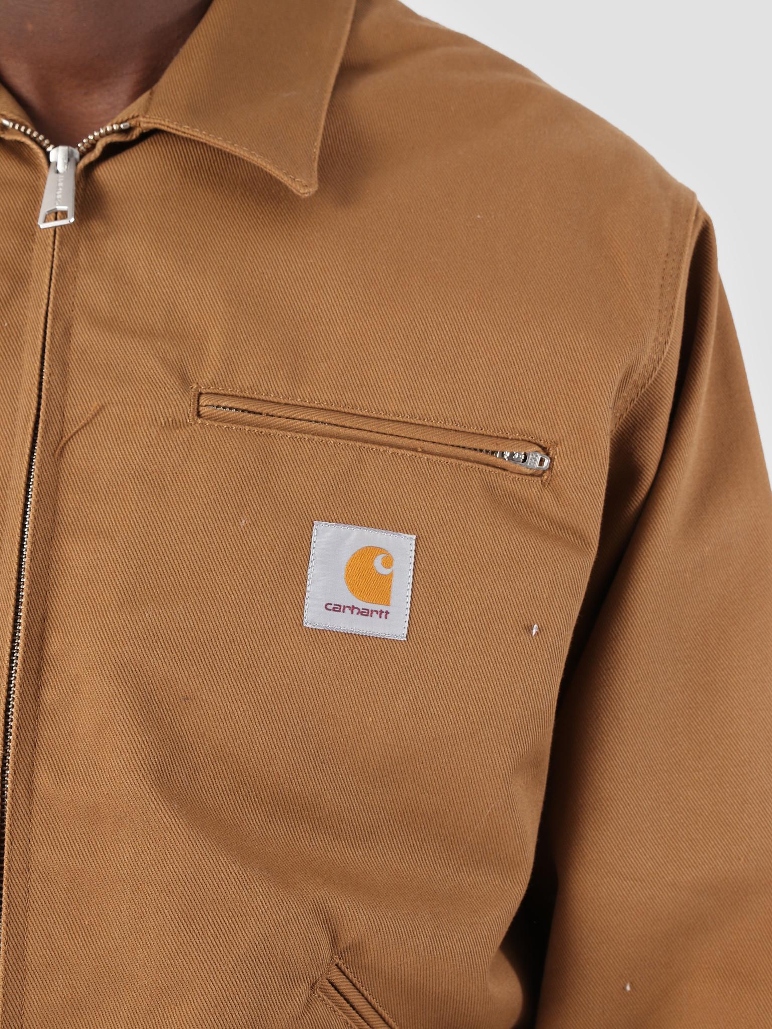 Carhartt WIP Carhartt WIP Og Detroit Jacket Rigid Hamilton Brown I026465