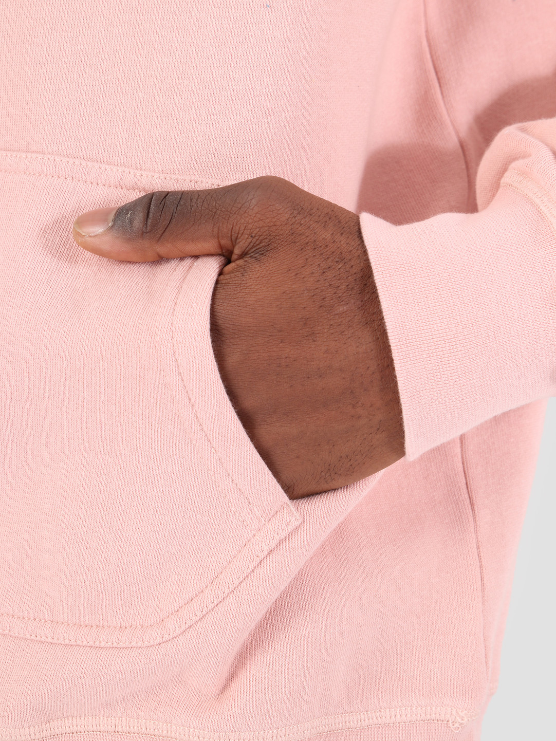 By Parra By Parra Hooded Sweater Garage Oil Pink 42290