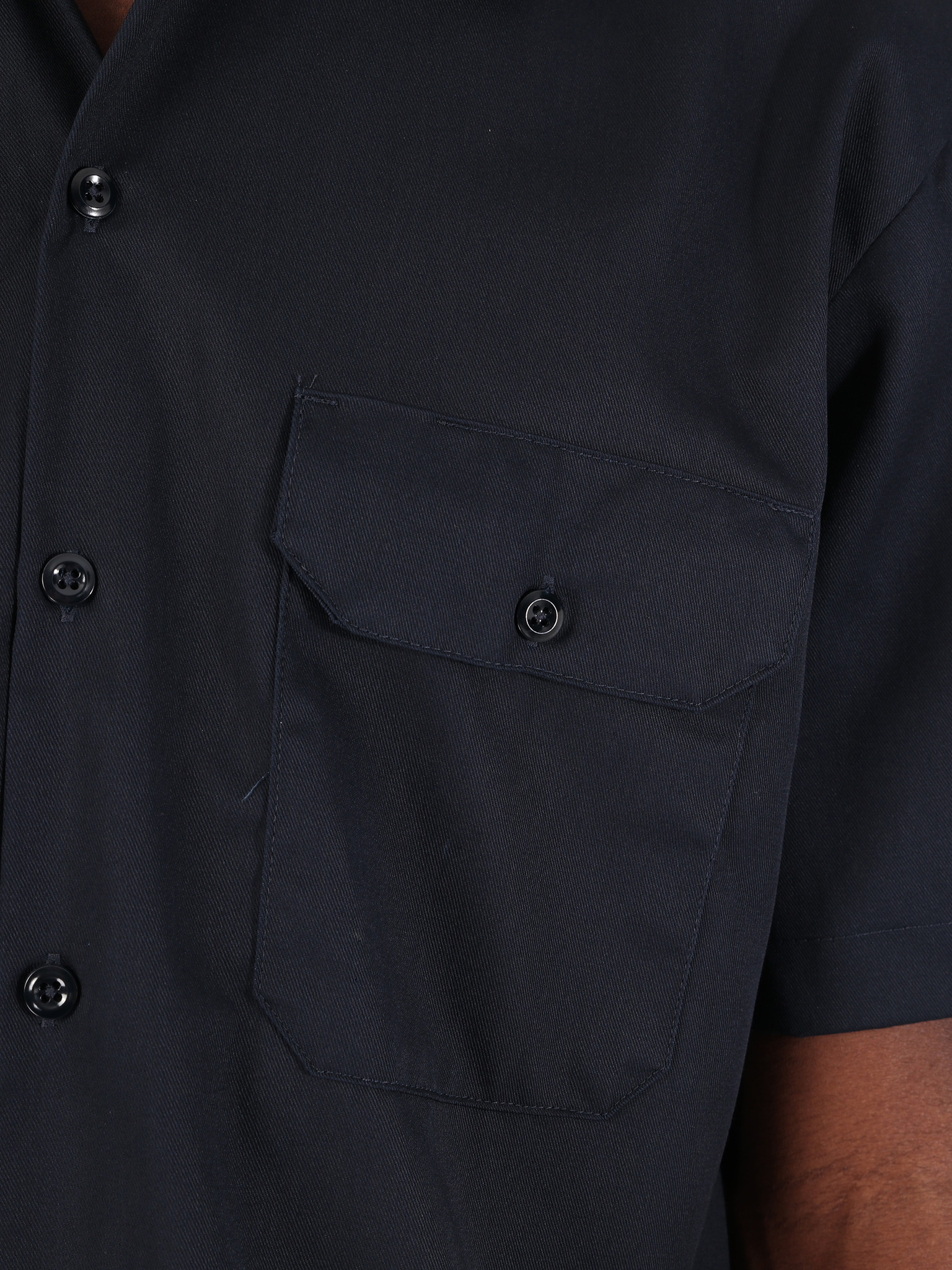 Dickies Dickies Work Shirt Shortsleeve Dark Navy 1574-DN