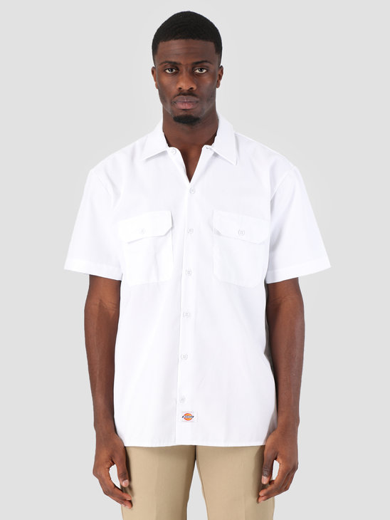 Dickies Work Shirt Shortsleeve White 1574-WH