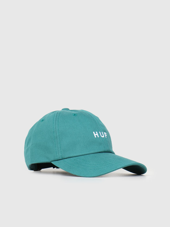 HUF Essentials Og Logo CV Hat Deep Jungle HT00345