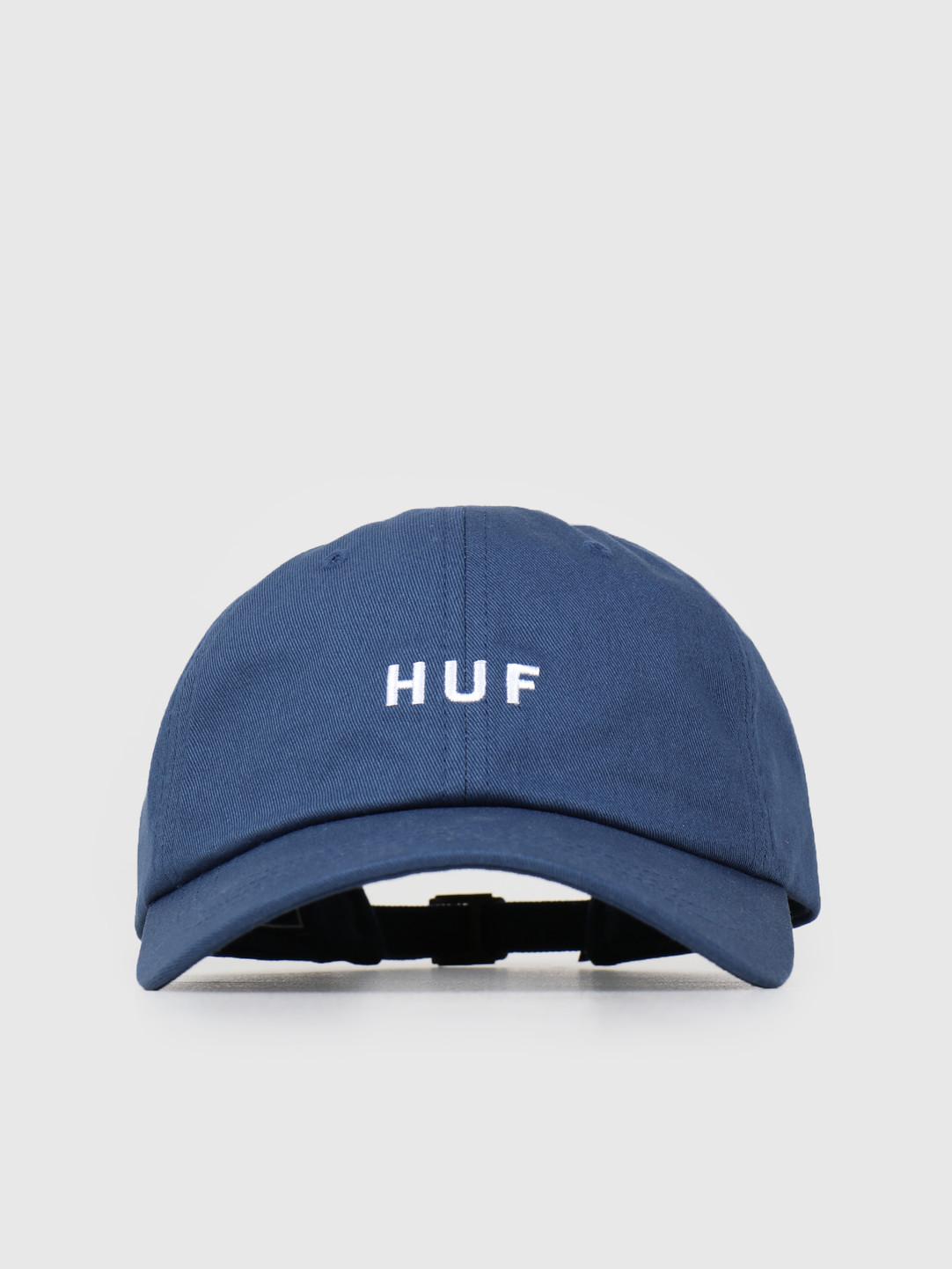 HUF HUF Essentials OG Logo CV Hat Insignia Blue HT00345