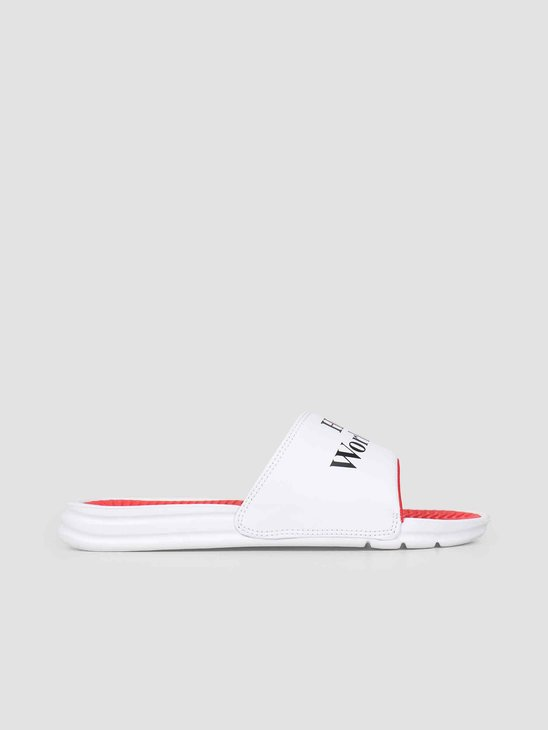 HUF Huf Love Slide White CP00036