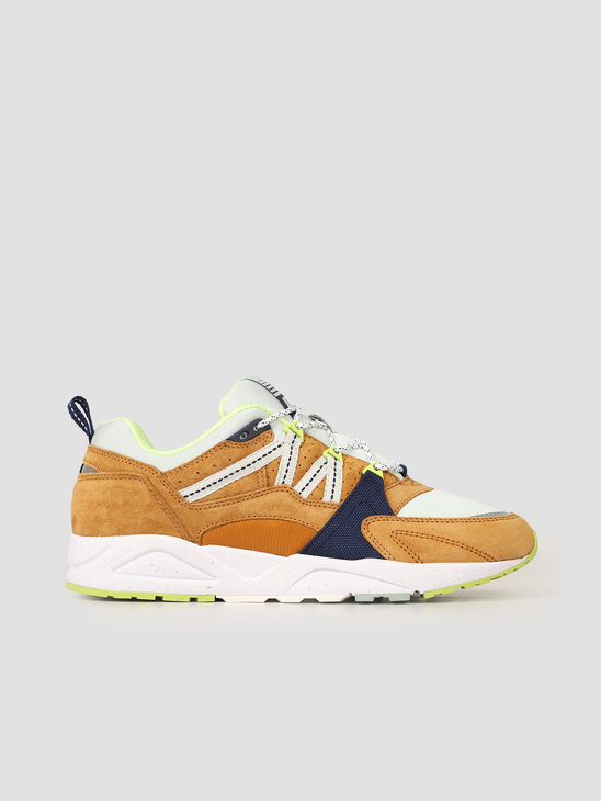 Karhu Fusion 2.0 Buckthorn Brown Blue Flower F804046