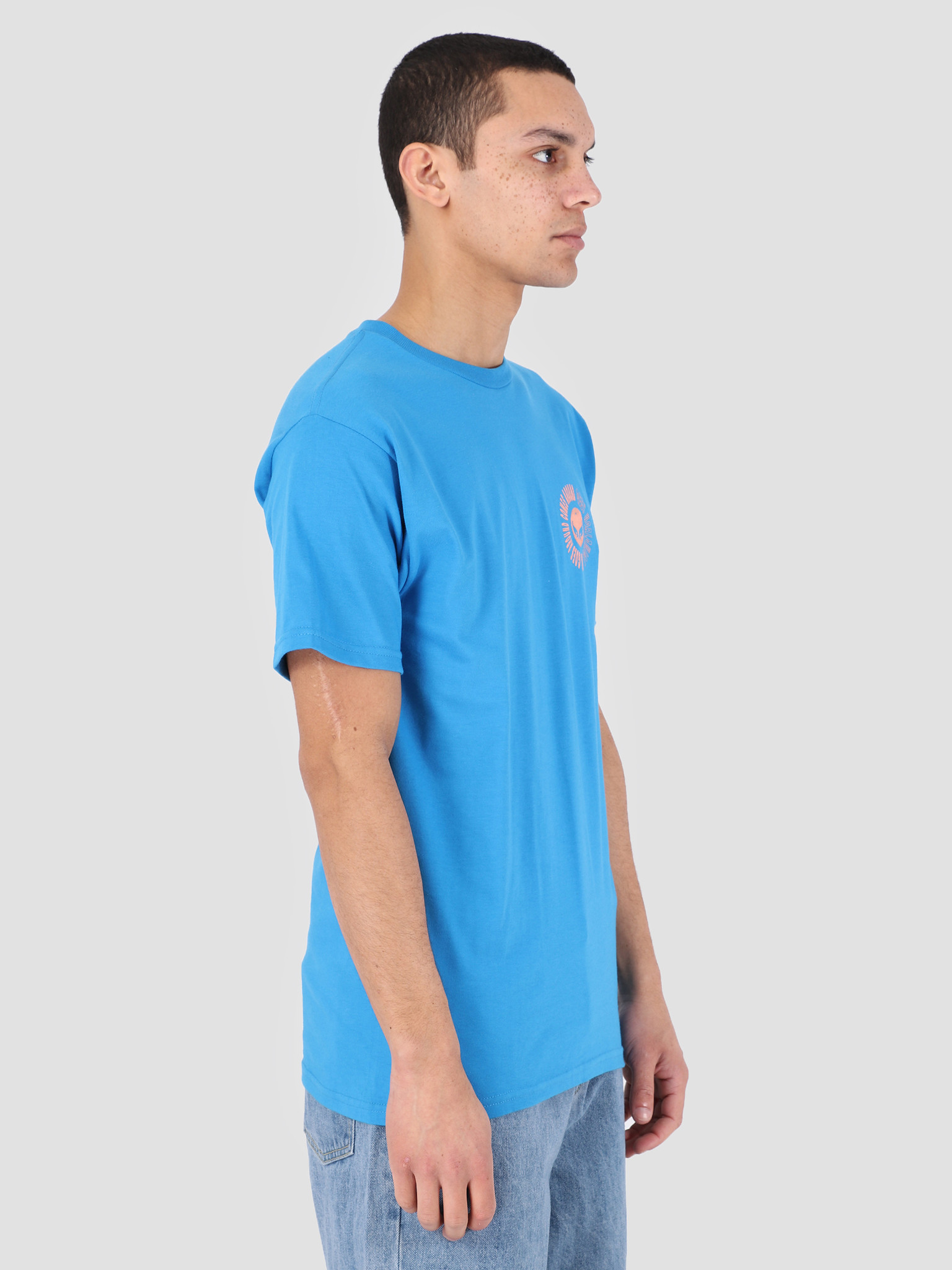 Obey Obey What Goes Around T-Shirt SKY 163081909