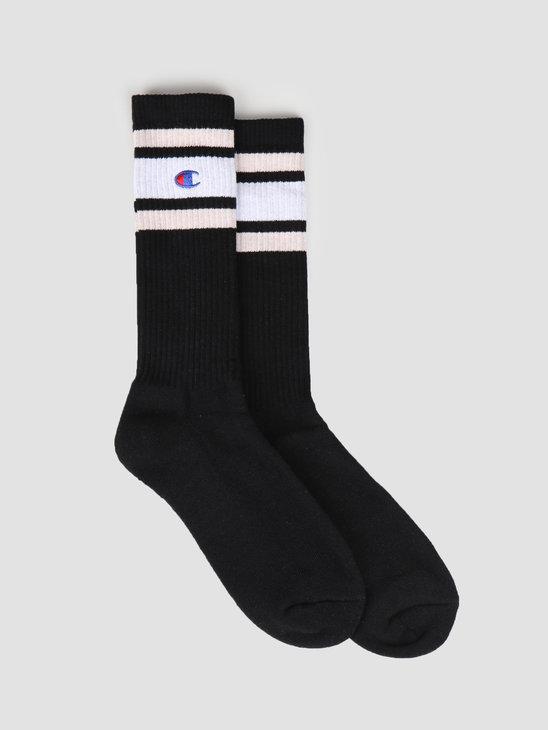 Champion 1pp Crew Socks NBK WHT VNC 804393