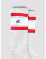 Champion Champion 1pp Crew Socks LOXGM WHT RED 804393