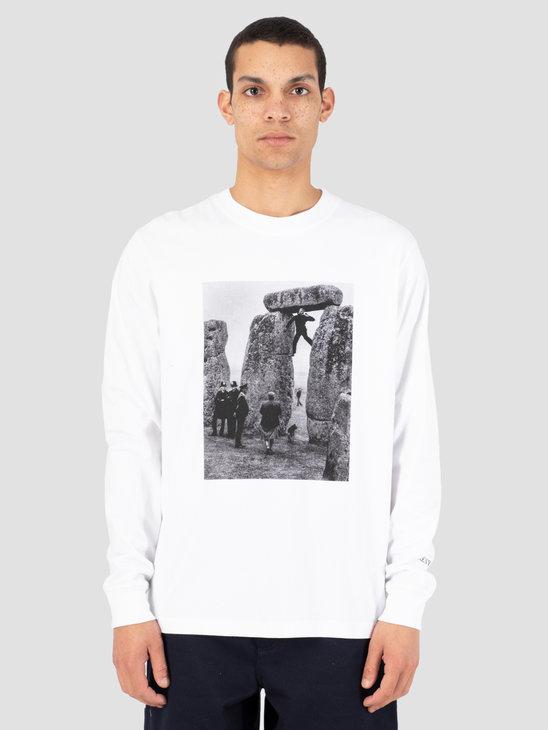 Heresy Henge T-Shirt White HSS19-T05W