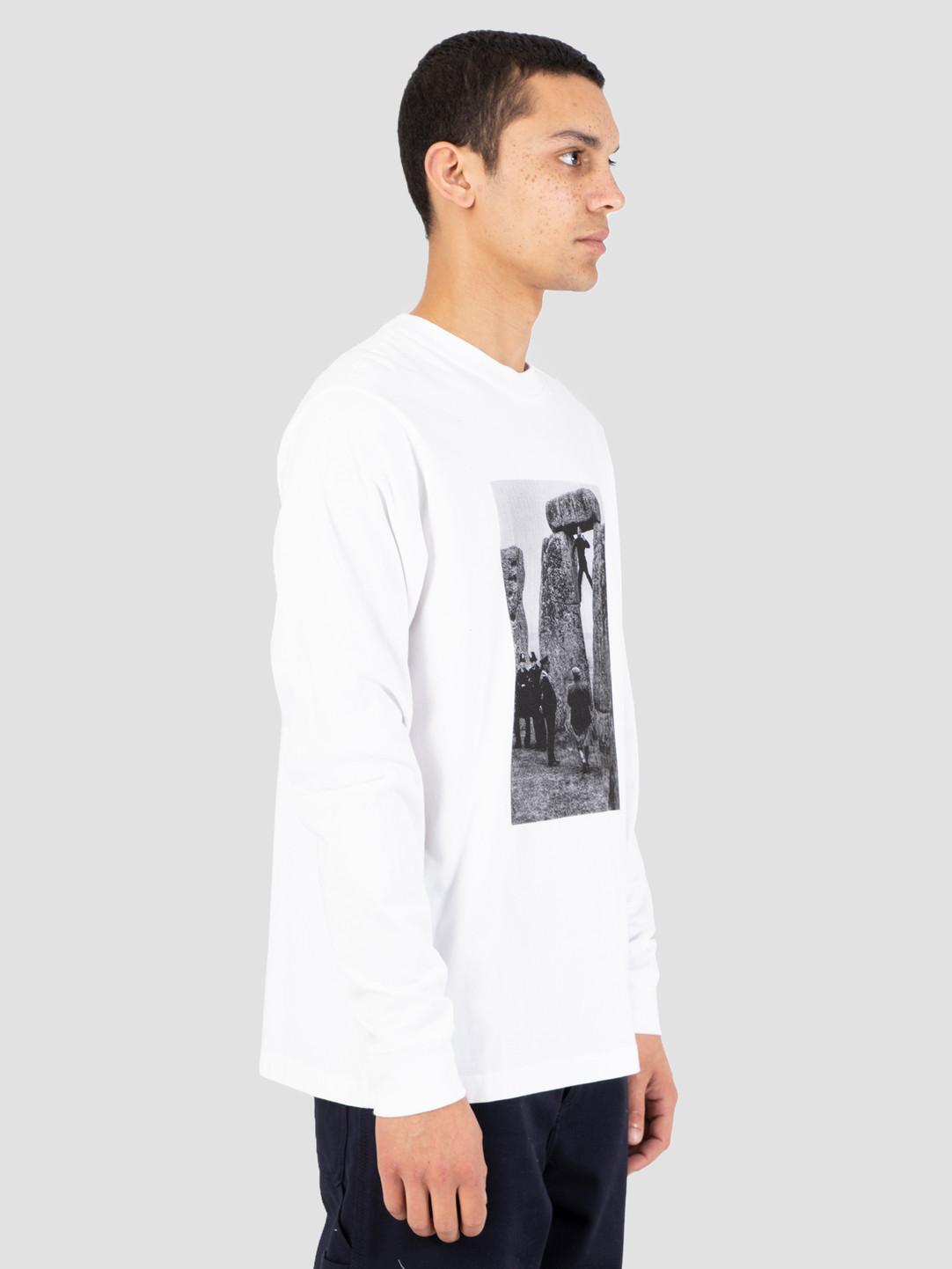 Heresy Heresy Henge T-Shirt White HSS19-T05W