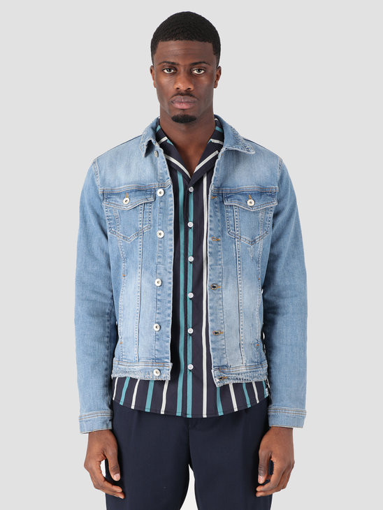 RVLT Denim Jacket Jacket Light Light Blue 7473