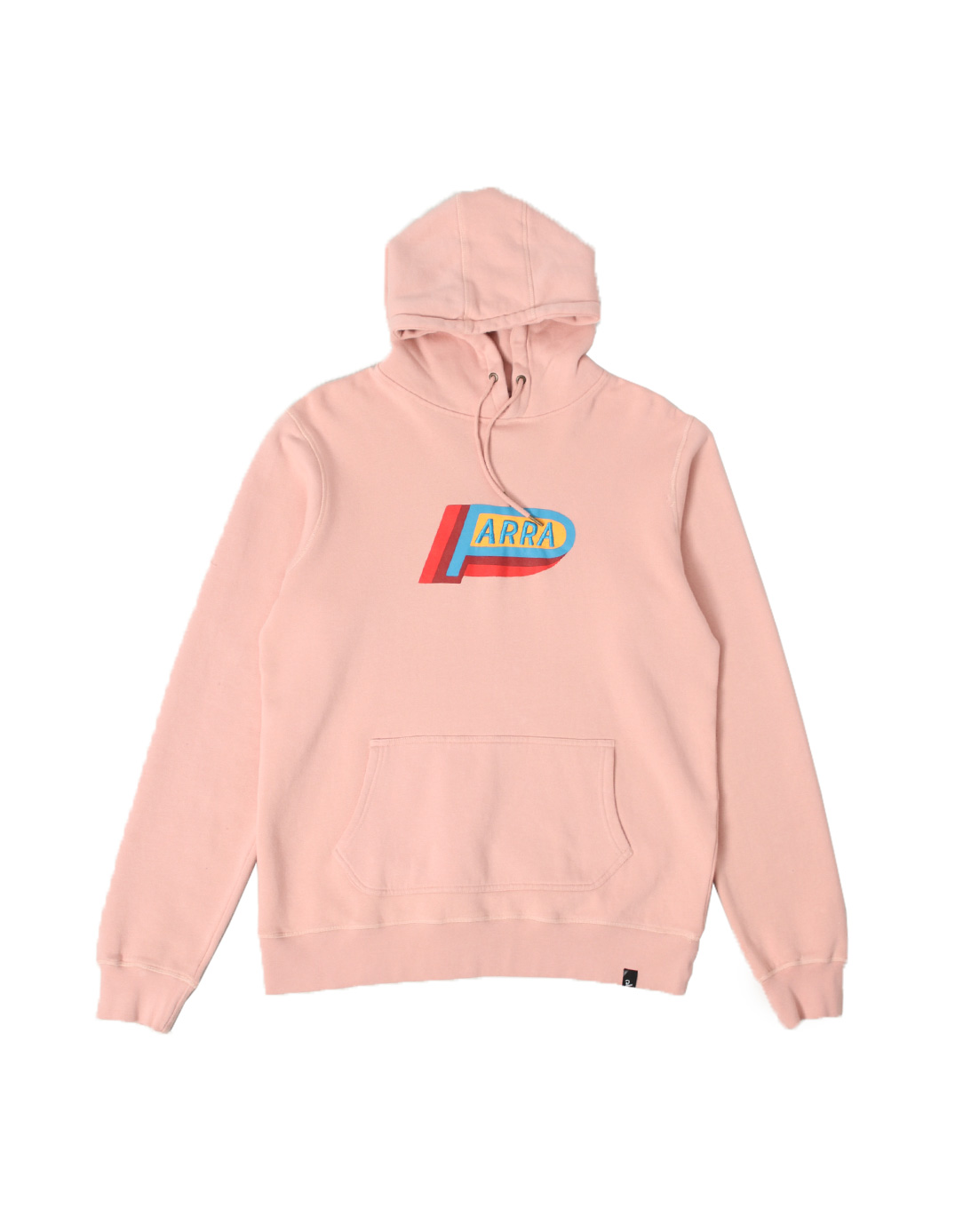 By Parra Hooded Sweater Garage Oil Pink 42290