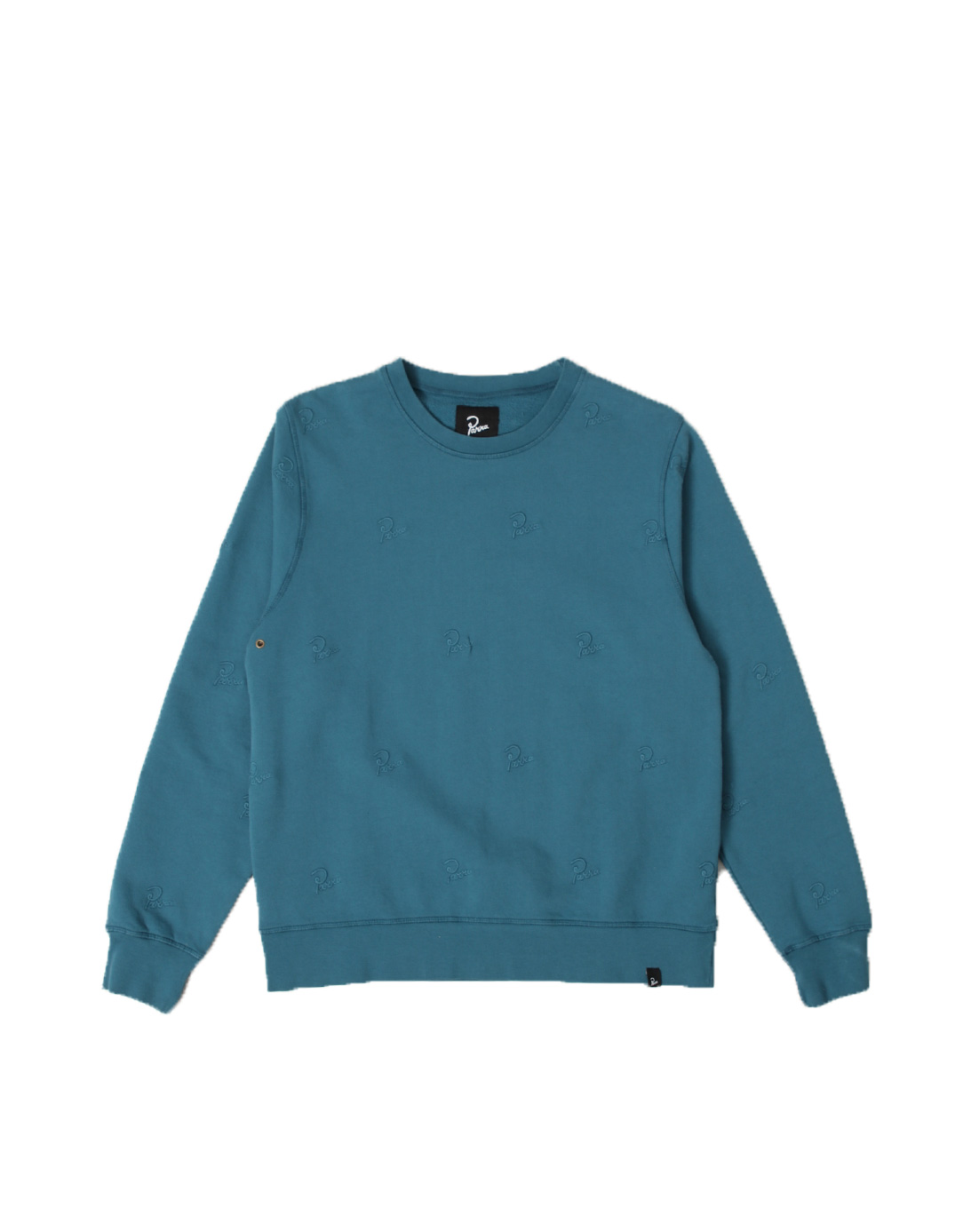 By Parra Crew Neck Signature Allover Overdyed Mall 42275