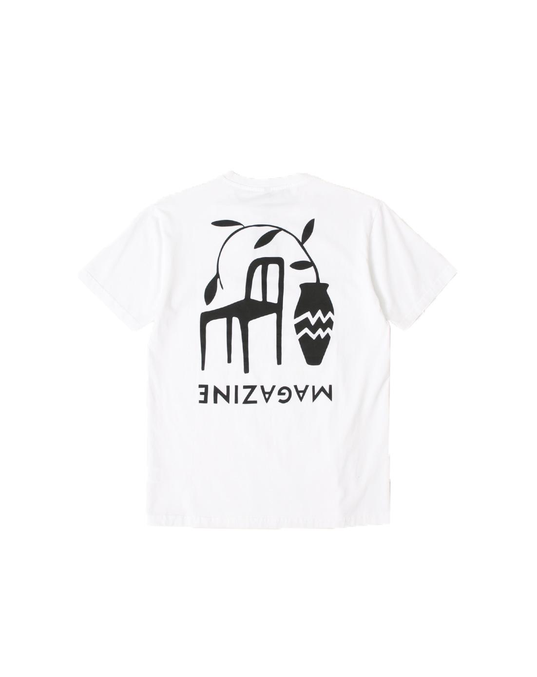 By Parra T-Shirt Chair Magazine White 42250