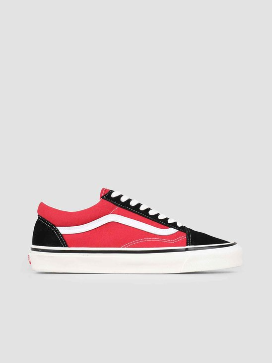 Vans UA Old Skool 36 DX Anaheim OG Black OG Red Vn0A38G2Ubs1