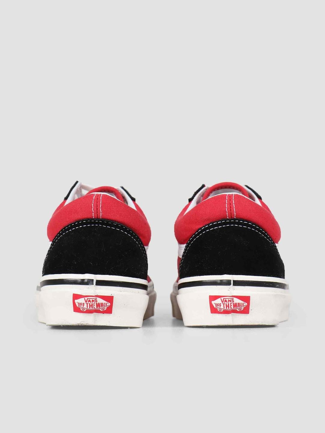 Vans Vans UA Old Skool 36 DX Anaheim OG Black OG Red Vn0A38G2Ubs1