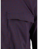 Libertine Libertine Libertine Libertine Nation Shirt Royal Blue Check 1611
