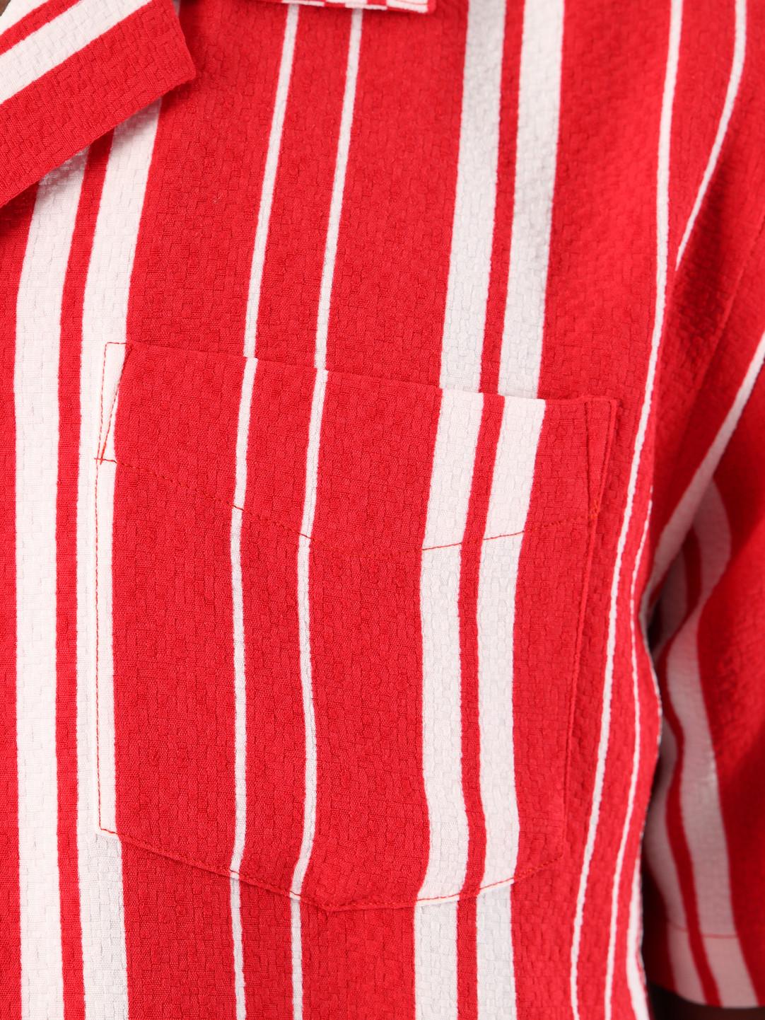 Libertine Libertine Libertine Libertine Cave Shortsleeve Shirt Off White Formula One 1621
