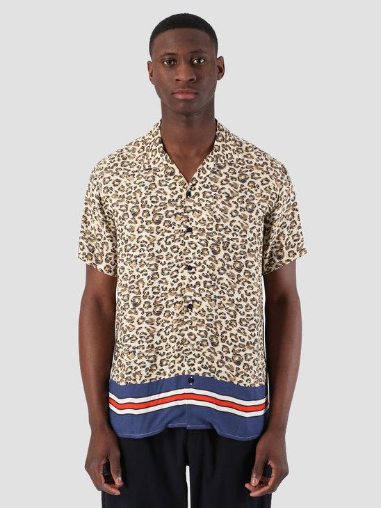 Libertine Libertine Cave Shortsleeve Shirt Leo Stripe 1635
