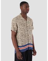 Libertine Libertine Libertine Libertine Cave Shortsleeve Shirt Leo Stripe 1635