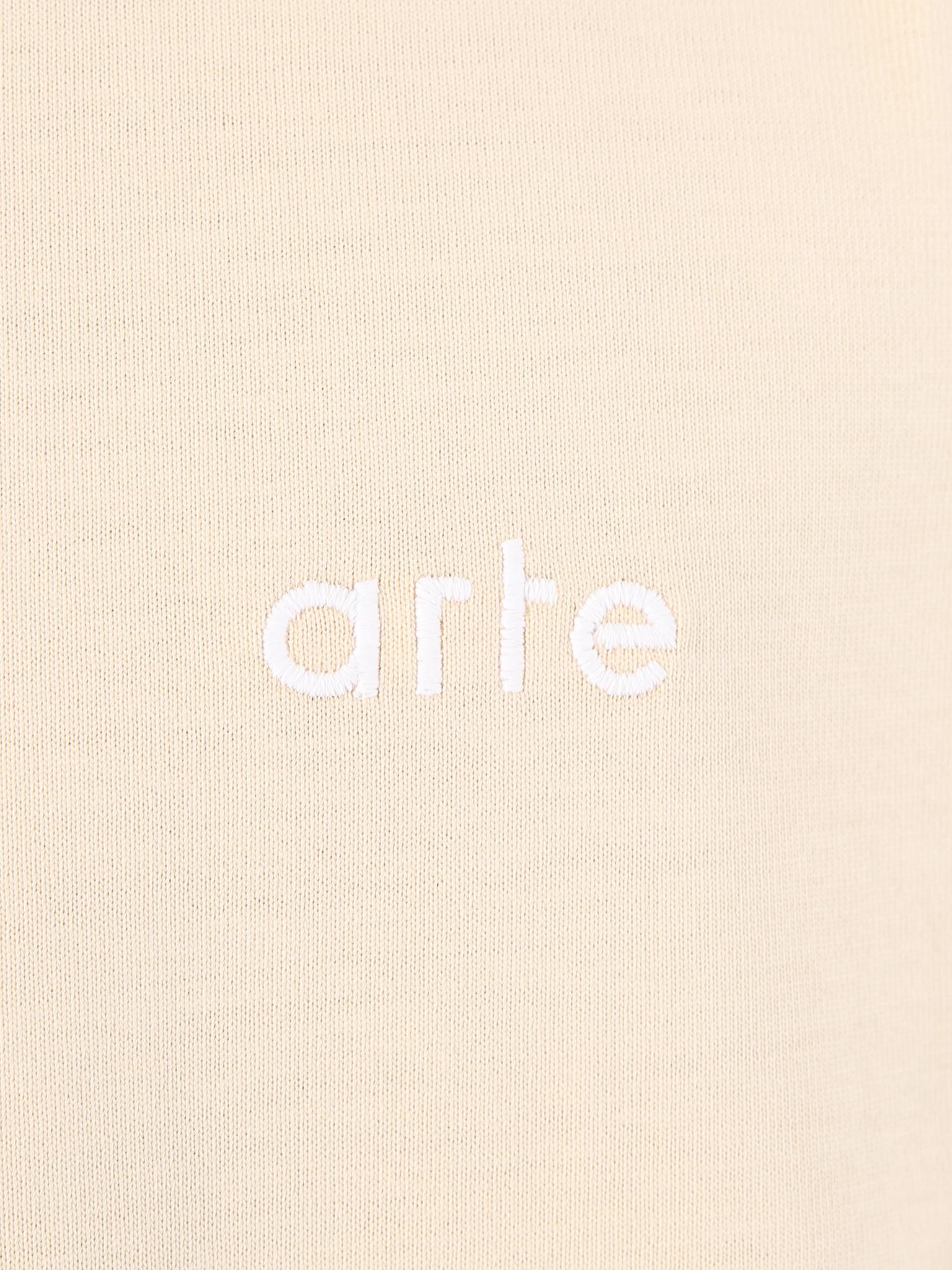 Arte Antwerp Arte Antwerp Troy Logo Creme T-Shirt 3757110