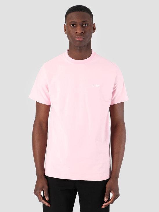 Arte Antwerp Troy Pink Logo T-Shirt 3757108