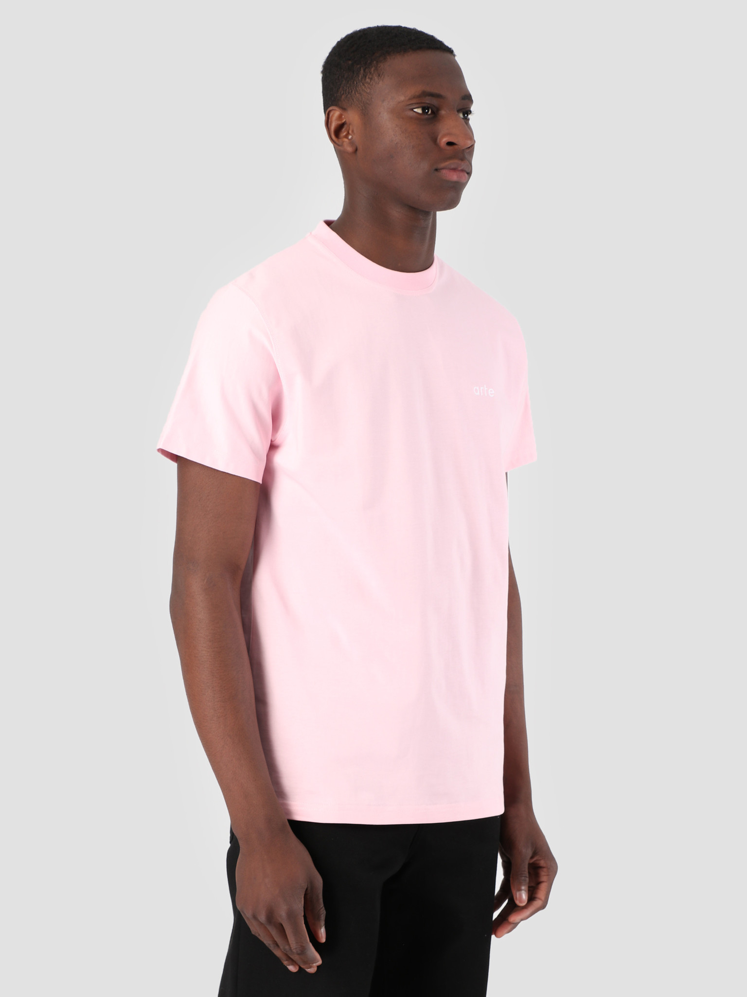 Arte Antwerp Arte Antwerp Troy Pink Logo T-Shirt 3757108