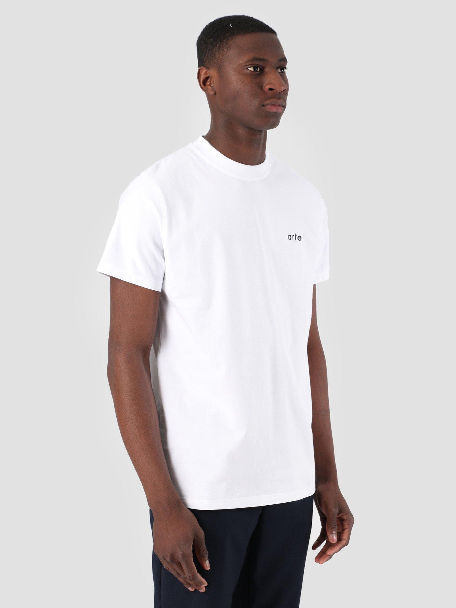 Arte Troy White 3759926 Antwerp Freshcotton T Shirt 4j5L3AR