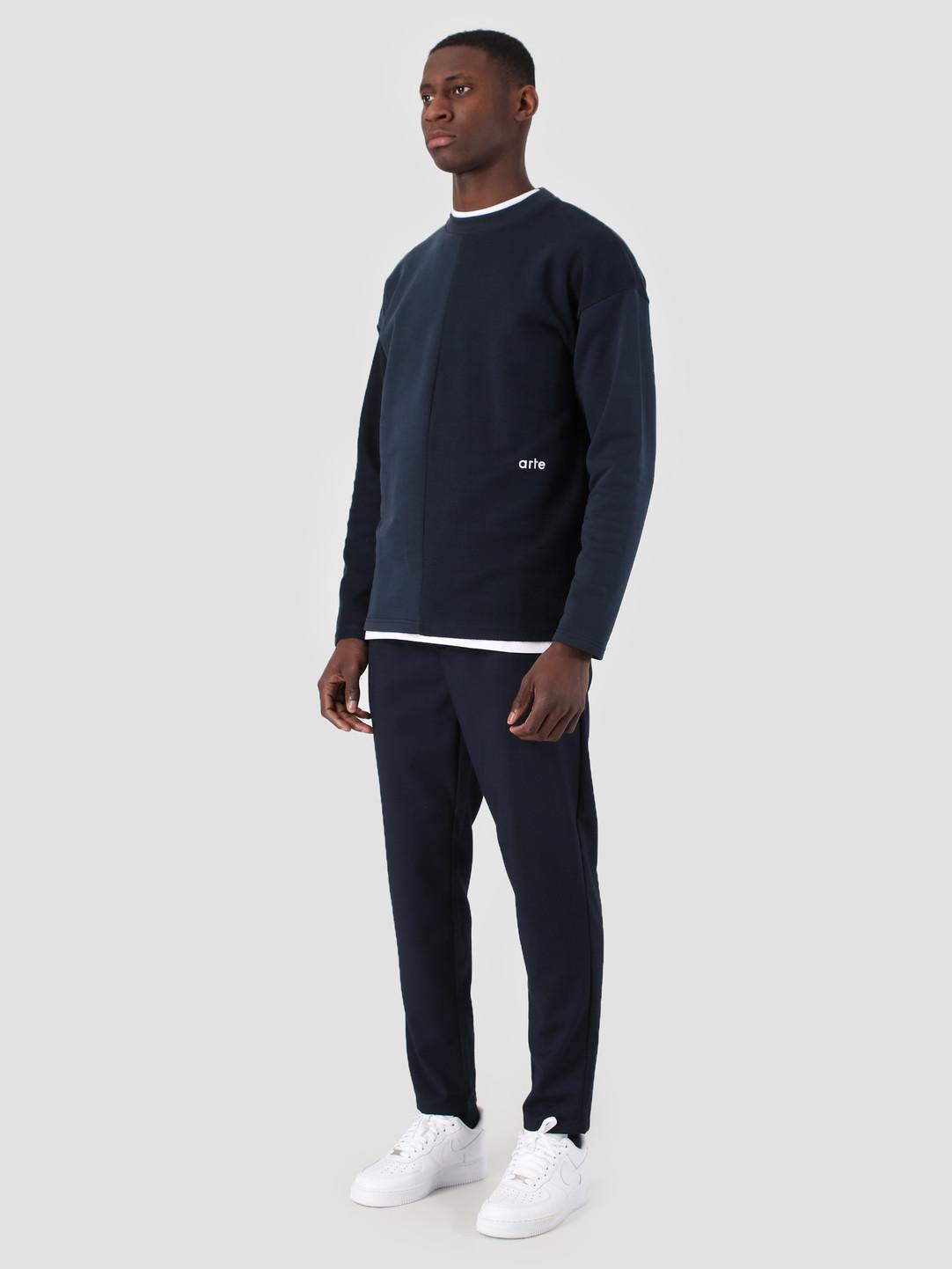 Arte Antwerp Arte Antwerp Clay Sweater Navy 3754531