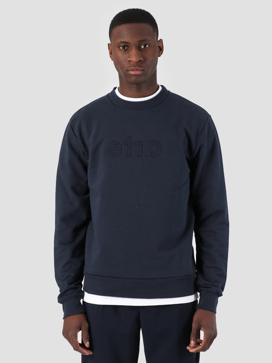 Arte Antwerp Chris Logo Sweater Navy 3759916