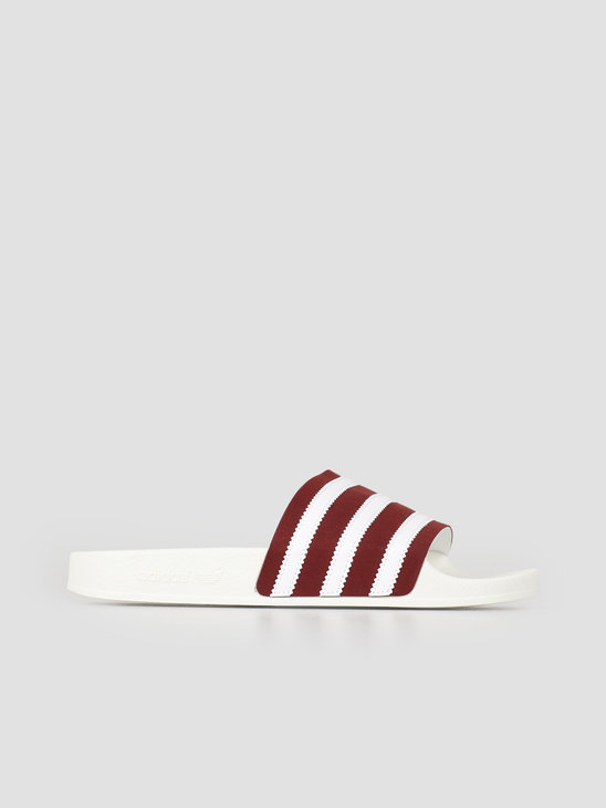 adidas AdileTrack Tope Cburgu Ftwwht Owhite BD7574