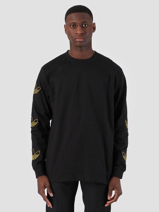 adidas Longsleeve Trefoil T-Shirt Black Bogold DV3152