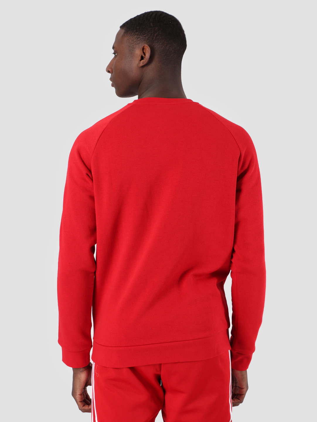 adidas adidas 3-Stripes Crewneck Power red DV1553
