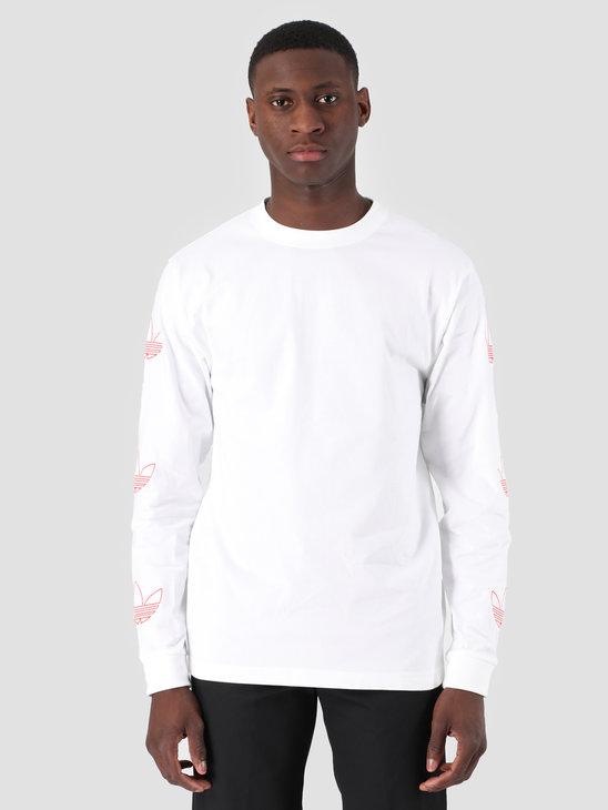 adidas Longsleeve Trefoil T-Shirt White Rawamb DV3151