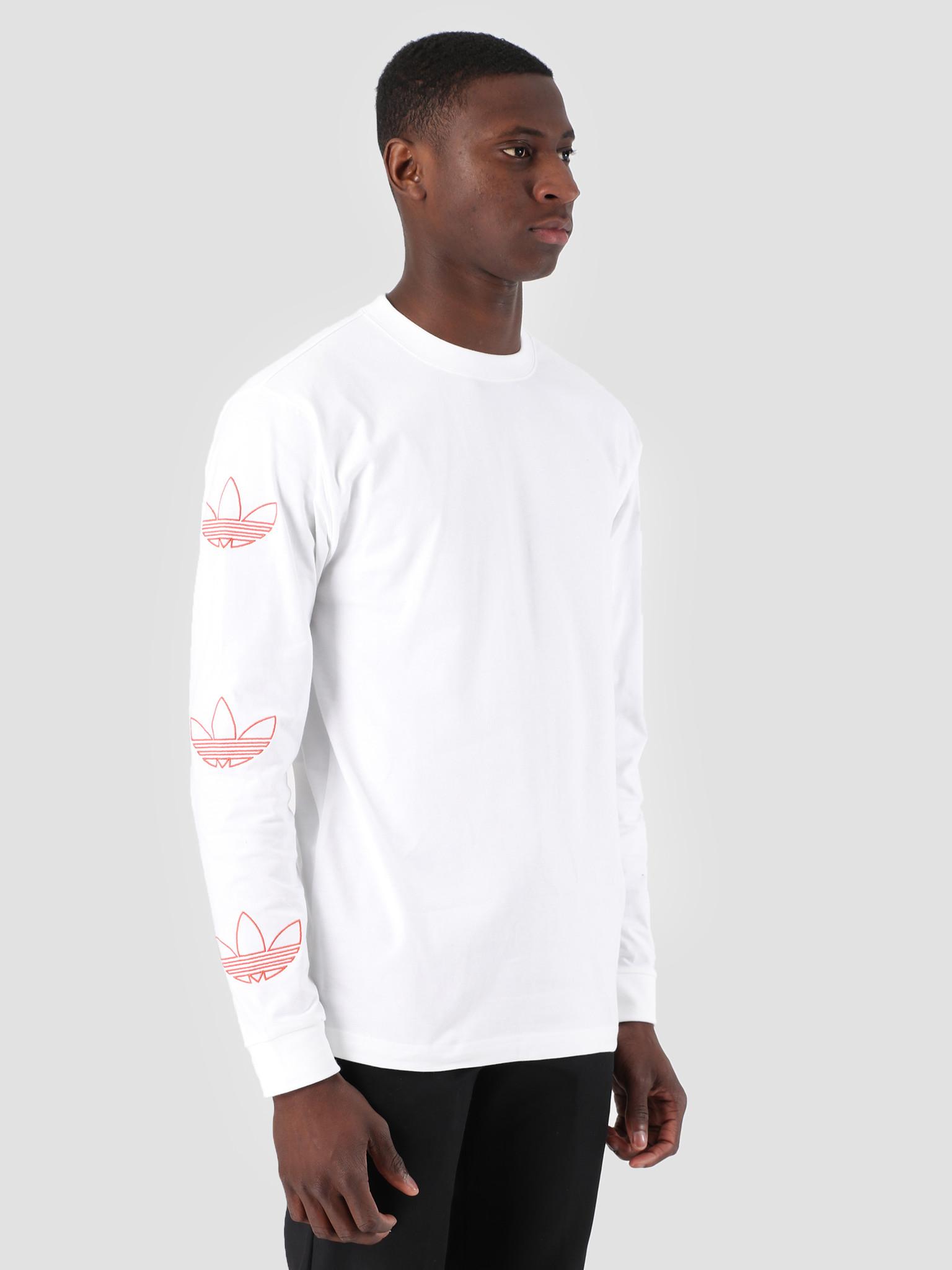 adidas adidas Longsleeve Trefoil T-Shirt White Rawamb DV3151