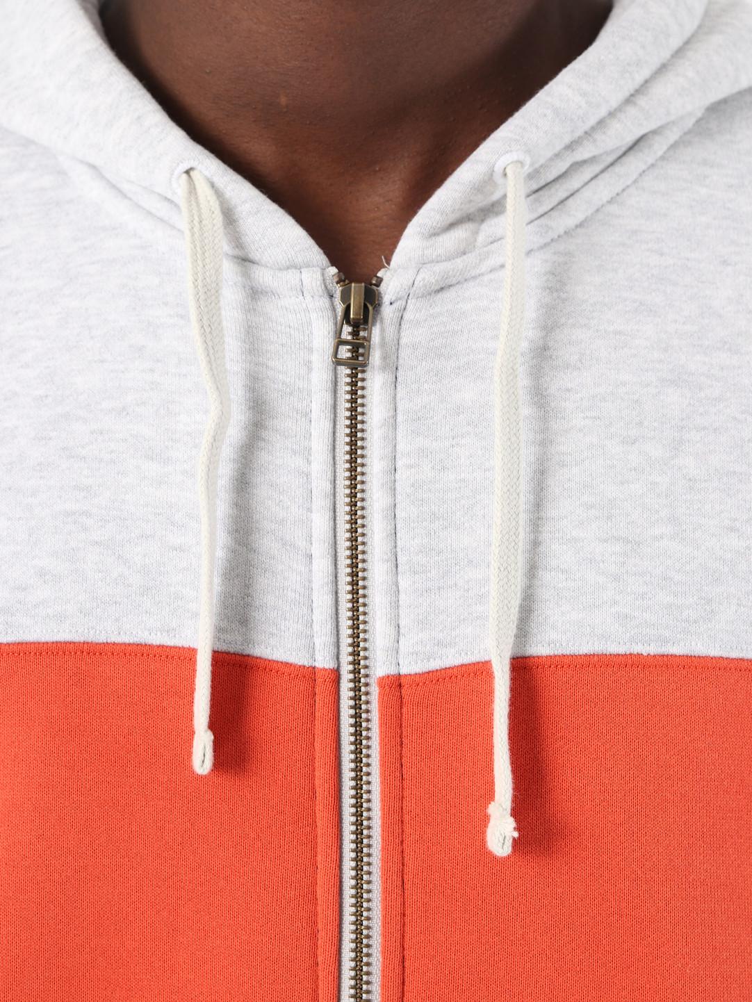 adidas adidas Full Zip Hoody Grey Navy DV3145