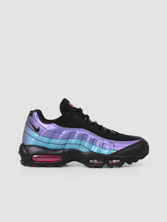 premium selection 3b46b a11d7 Nike Air Max 95 Premium Black Laser 538416-021 ...