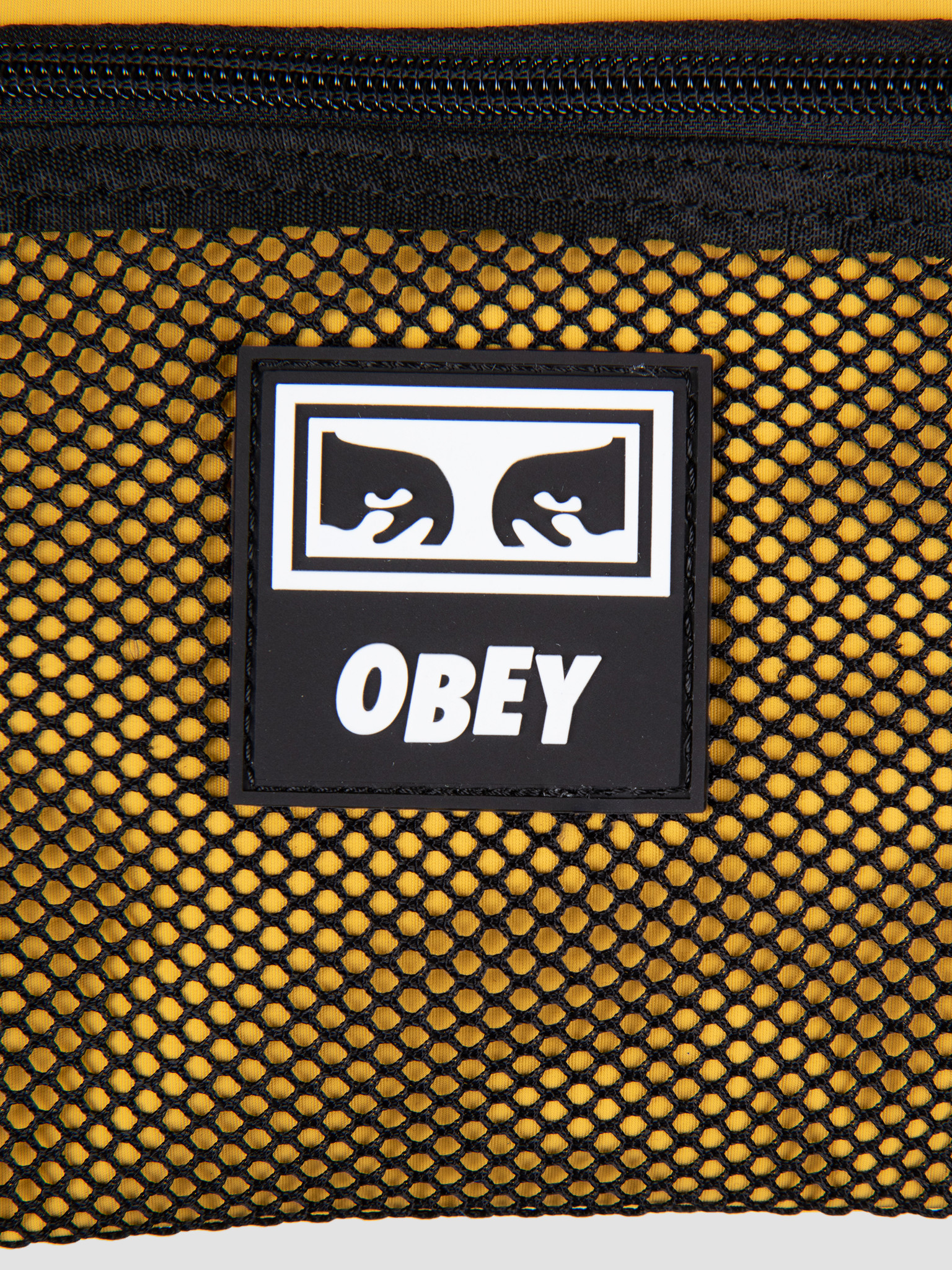 Obey Obey Conditions Side Bag YEL 100010110