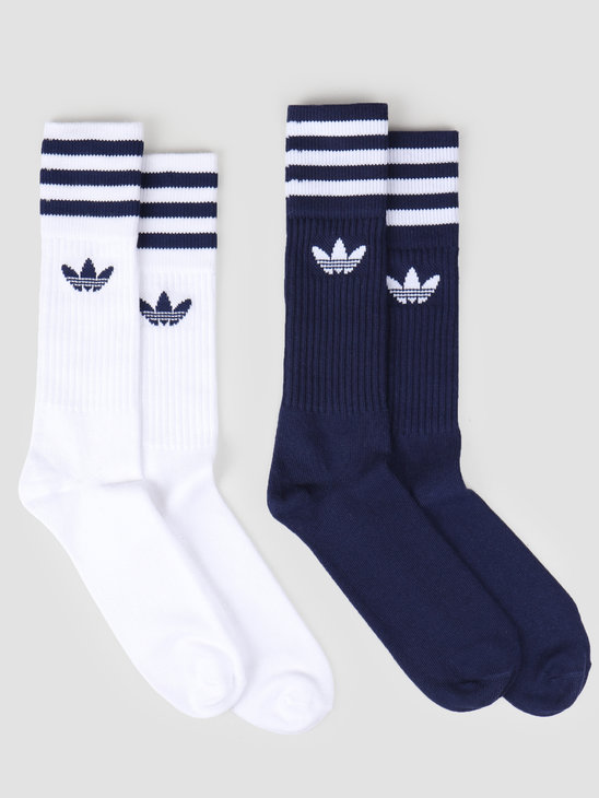 adidas Solid Crew 2Pp Dkblue White DW3936