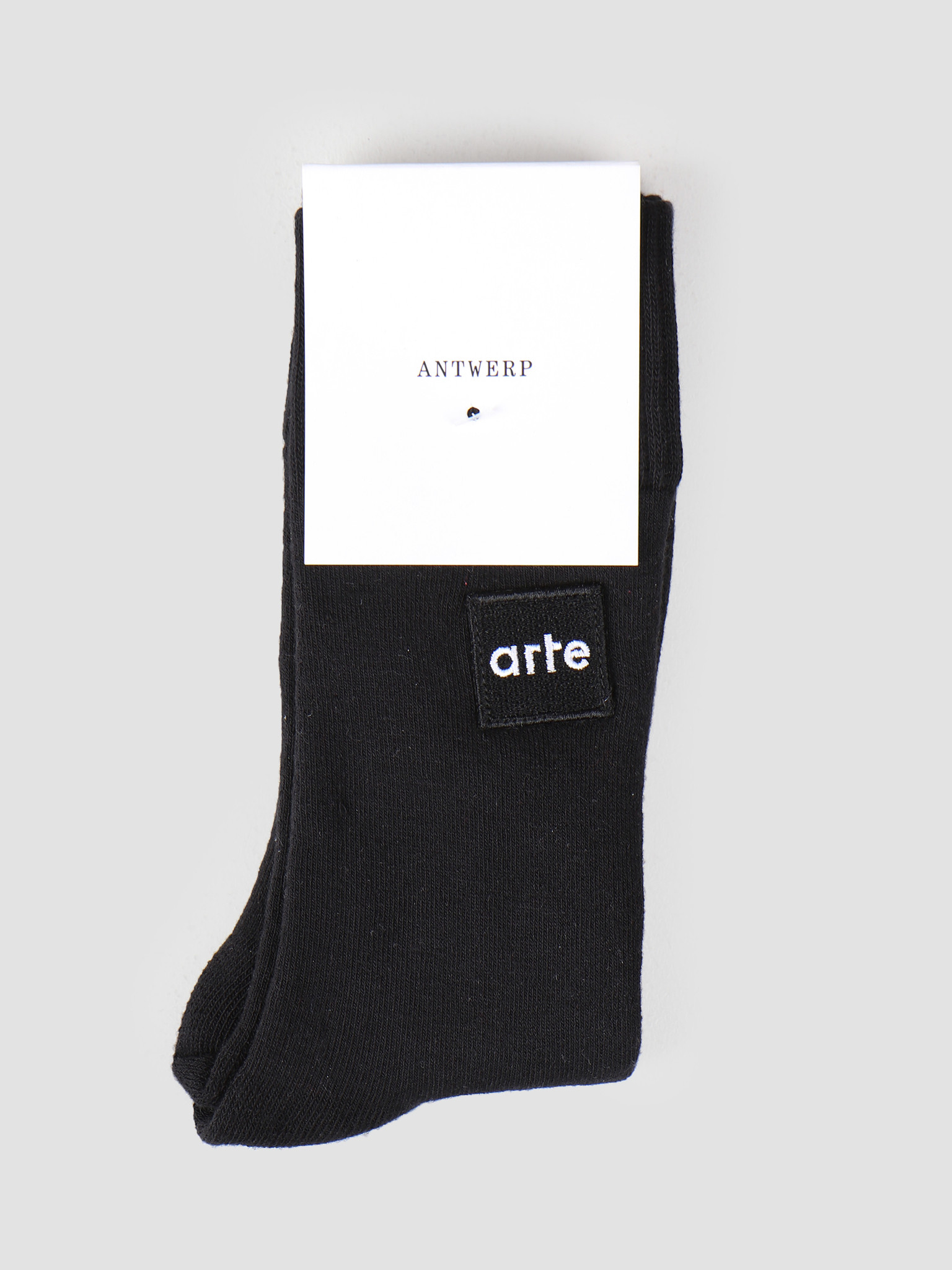 Arte Antwerp Arte Antwerp Patch Sock Black 3513964