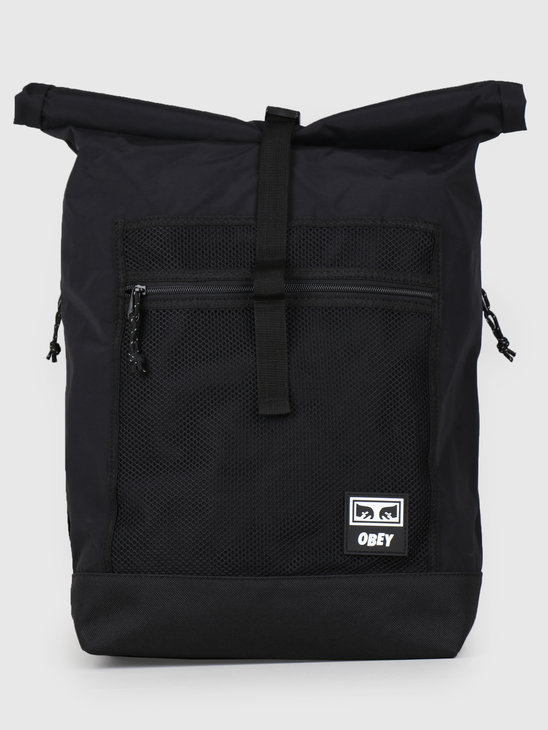 Obey Conditions Rolltop Bag BLK 100010106